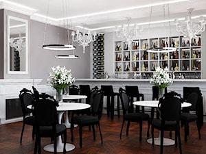 Sala weselna - Wnętrza publiczne, styl glamour - zdjęcie od Design Factory Studio Projektowe