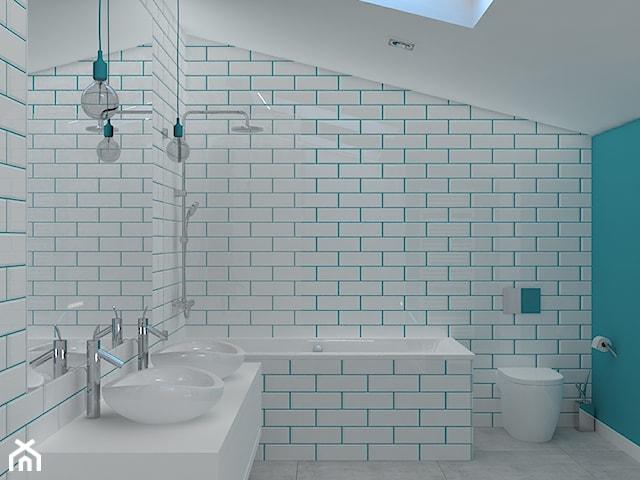 Łazienki w apartamencie