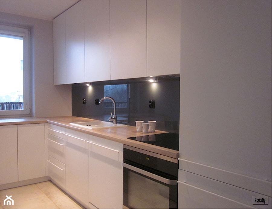 salon z kuchni� 25 m2 krak243w walerego s�awka zdjęcie