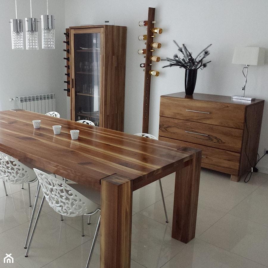 meble z drewna litego orzechowego zdjęcie od drewbetex