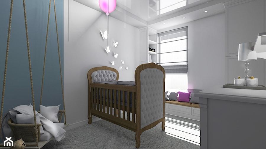 Aranżacje wnętrz - Pokój dziecka: Pokój dziecka - Pracownia_A. Przeglądaj, dodawaj i zapisuj najlepsze zdjęcia, pomysły i inspiracje designerskie. W bazie mamy już prawie milion fotografii!