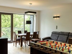 Mieszkanie w męskim stylu - Promenada Solna 2014