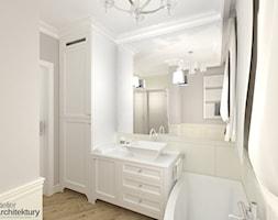 Elegancka+%C5%82azienka+w+stylu+klasycznym.+-+zdj%C4%99cie+od+Atelier+Architektury