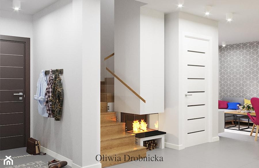 Przedpokój - zdjęcie od Projektowanie Wnętrz Oliwia Drobnicka