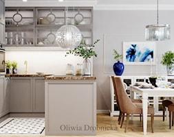 Kuchnia+-+zdj%C4%99cie+od+Projektowanie+Wn%C4%99trz+Oliwia+Drobnicka