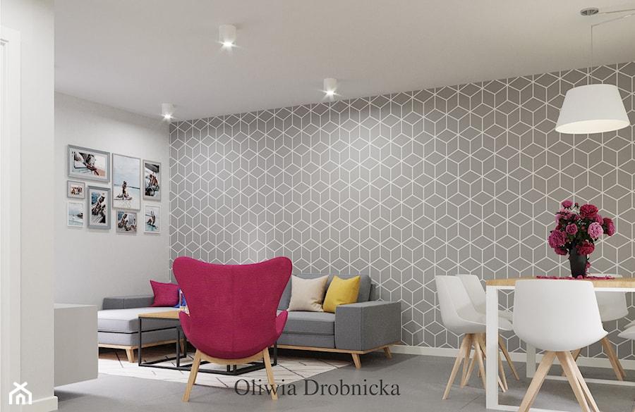 Salon - zdjęcie od Projektowanie Wnętrz Oliwia Drobnicka