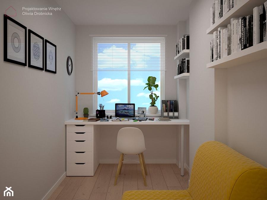 Domowe biuro - zdjęcie od Projektowanie Wnętrz Oliwia Drobnicka
