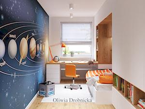 Pokój młodzieżowy - zdjęcie od Projektowanie Wnętrz Oliwia Drobnicka