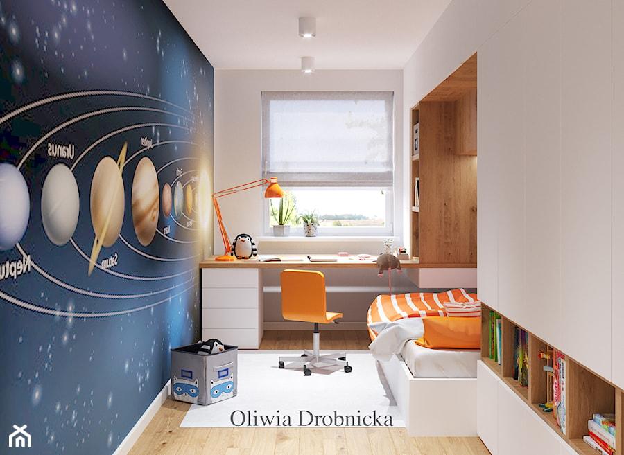 Aranżacje wnętrz - Pokój dziecka: Pokój młodzieżowy - Projektowanie Wnętrz Oliwia Drobnicka. Przeglądaj, dodawaj i zapisuj najlepsze zdjęcia, pomysły i inspiracje designerskie. W bazie mamy już prawie milion fotografii!