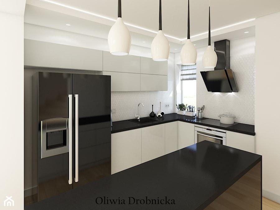 Projekt kuchnia w Katowicach - zdjęcie od Projektowanie Wnętrz Oliwia Drobnicka