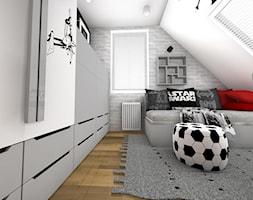 Pokój chłopca - zdjęcie od KOKOdesign - STUDIO PROJEKTOWE - Polska