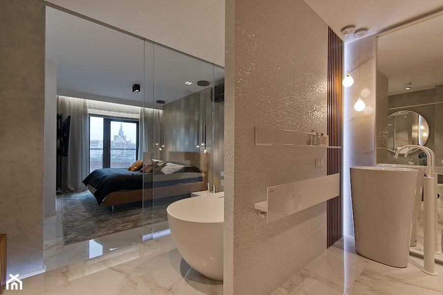 Aranżacje wnętrz - Łazienka: REALIZACJA GDAŃSK - Duża łazienka, styl nowoczesny - Studio Estima Sopot. Przeglądaj, dodawaj i zapisuj najlepsze zdjęcia, pomysły i inspiracje designerskie. W bazie mamy już prawie milion fotografii!