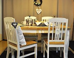 lakierowany i olejowany, krzesła z litego drewna lakierowane i olejowane - zdjęcie od Meble Pyrek