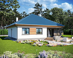 Ogród i taras ARP TRYTON CE - Dom.pl - zdjęcie od Dom.pl Projekty domów