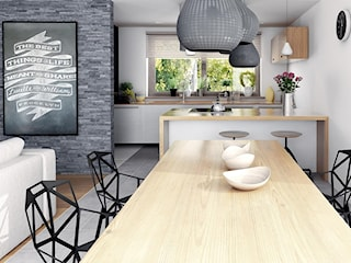 Wnętrza - Projekty domów