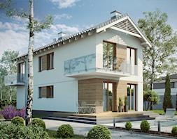 Projekty Domów Piętrowych Projekt Domu Dompl Projekty Domów Homebook