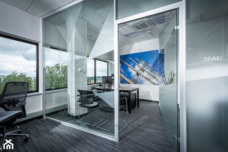 biuro UASC - Wnętrza publiczne, styl nowoczesny - zdjęcie od Pszczołowscy projektowanie wnętrz