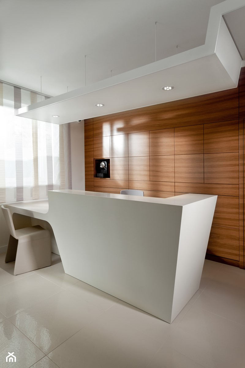 klinika stomatologiczna - Wnętrza publiczne, styl nowoczesny - zdjęcie od Pszczołowscy projektowanie wnętrz