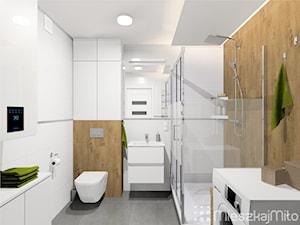 """Aranżacja łazienki - zdjęcie od Pracownia Projektowania Wnętrz """"Mieszkaj Miło"""""""