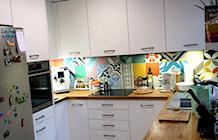 """Kuchnia otwarta na salon - zdjęcie od Pracownia Projektowania Wnętrz """"Mieszkaj Miło"""""""