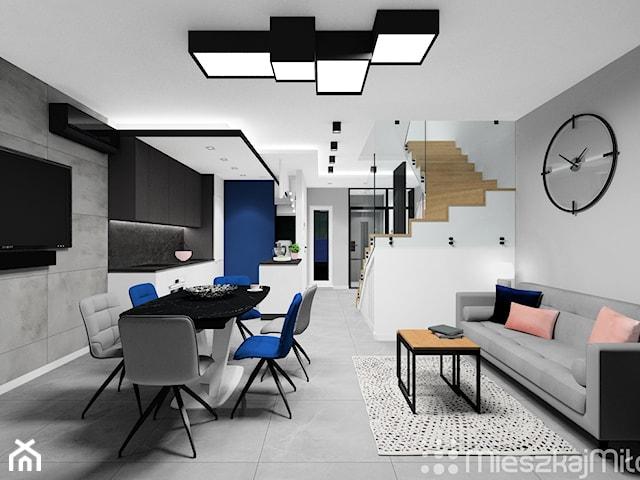 Projekt wnętrza domu - Warszawa