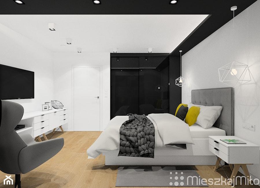 """Aranżacje wnętrz - Sypialnia: Aranżacja sypialni - Pracownia Projektowania Wnętrz """"Mieszkaj Miło"""". Przeglądaj, dodawaj i zapisuj najlepsze zdjęcia, pomysły i inspiracje designerskie. W bazie mamy już prawie milion fotografii!"""