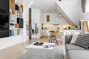 Małe mieszkanie z kreatywnymi rozwiązaniami. Poradnik