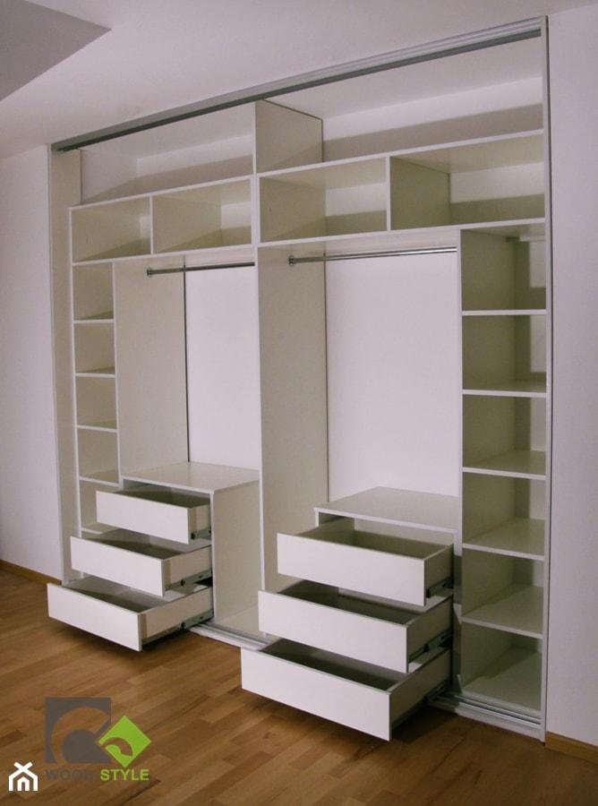 Szafy wnękowe i Garderoby - Garderoba, styl nowoczesny - zdjęcie od WOOD-STYLE