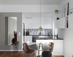 GDYNIA MIESZKAIE Z WIDOKIEM NA LAS - Kuchnia, styl nowoczesny - zdjęcie od em2pracownia - Homebook