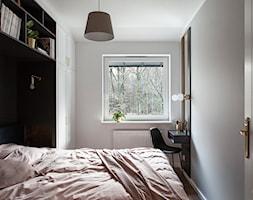 GDYNIA MIESZKAIE Z WIDOKIEM NA LAS - Sypialnia, styl nowoczesny - zdjęcie od em2pracownia - Homebook