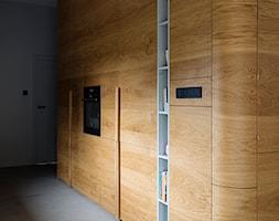 Mieszkanie w Gdyni - Średnia zamknięta szara kuchnia jednorzędowa - zdjęcie od em2pracownia - Homebook