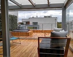 Ogród zimowy - zdjęcie od Szklarz Glass Decorator Nowoczesne Szkło dla Architektury