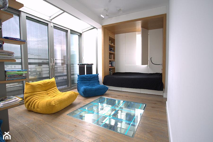 Szklana podświetlana podłoga - zdjęcie od Szklarz Glass Decorator Nowoczesne Szkło dla Architektury