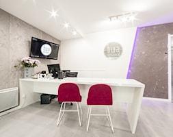 BWA-STUDIO - czyli otwarcie naszego nowego biura - Duże szare biuro pracownia kącik do pracy, styl nowoczesny - zdjęcie od BWA-STUDIO