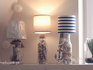 Jak zrobić podstawę lampy z karafki?