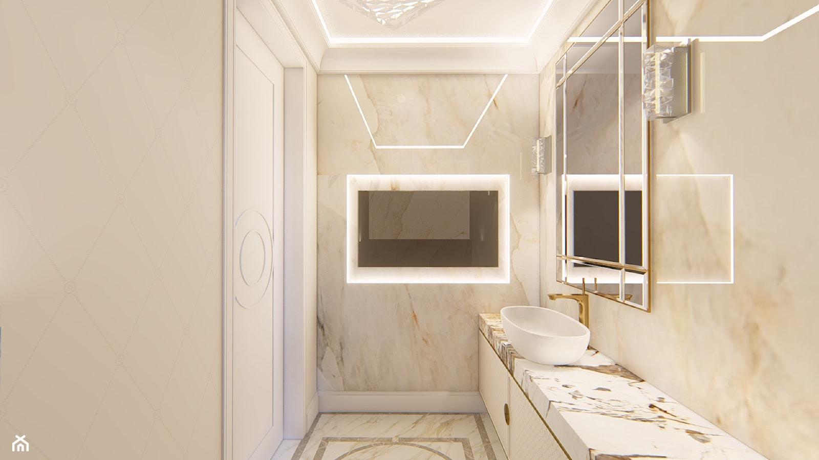 łazienka w stylu klasycznym - zdjęcie od Alina Mokrzycka Architekt / Wnętrza / Grafika - Homebook