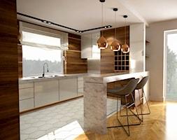Kuchnia Biało Drewniana Pomysły Inspiracje Z Homebook