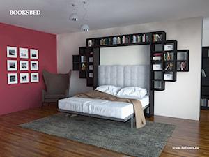 Booksbed - łóżko w szafie - zdjęcie od Holzmex - łóżko w szafie