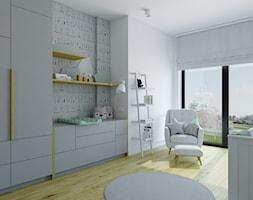mieszkanie 140 mkw - Warszawa / Powsin - Średni biały pokój dziecka dla chłopca dla dziewczynki dla niemowlaka, styl nowoczesny - zdjęcie od INSIDEarch