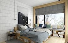 Sypialnia styl Industrialny - zdjęcie od INSIDEarch