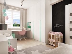 Pokój dwóch dziewczynek (12 m2)