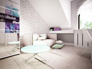 Pokój dla dziewczynki w 271m2 domu pod Ostrołęką