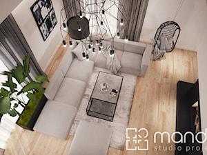 Projekt wnętrza parteru w domu jednorodzinnym - zdjęcie od studio_projektowe_mandala