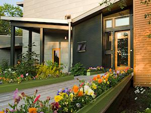 Aranżacje - Średni ogród przed domem - zdjęcie od Hydrobox