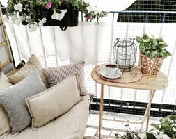 Balkon w bloku - Mały taras - zdjęcie od Violetta Korzuchowska