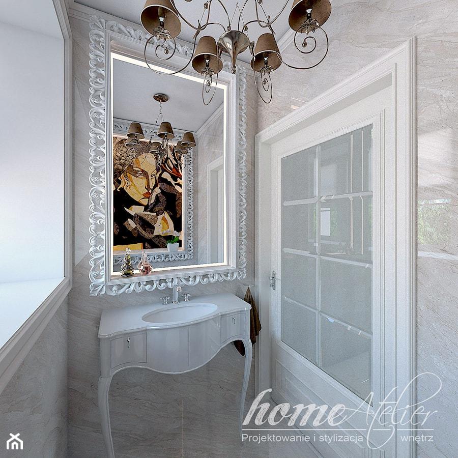 Francuski Dworek łazienka Styl Klasyczny Zdjęcie Od