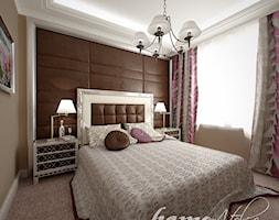 Hiszpańska dacza - Mała kolorowa sypialnia małżeńska, styl klasyczny - zdjęcie od Home Atelier Aneta Rosińska-Dadsi - Homebook