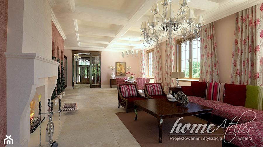 Hiszpańska dacza - Salon, styl klasyczny - zdjęcie od Home Atelier Aneta Rosińska-Dadsi