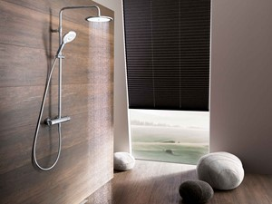 Jak zbudować komfortową strefę prysznica? Na co zwrócić uwagę wybierając systemy prysznicowe?