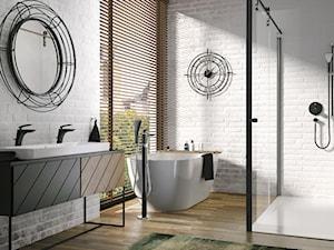 Łazienka w stylu loftowym – czego nie może zabraknąć w industrialnym wnętrzu?